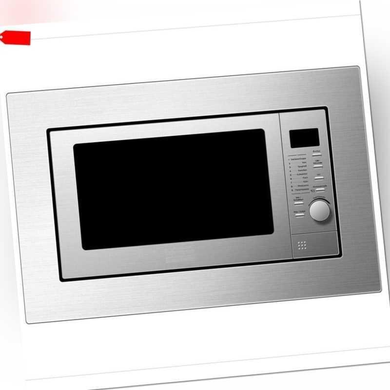 PKM Einbau Mikrowelle mit Grill Microwelle MW800.8-20G-EB...