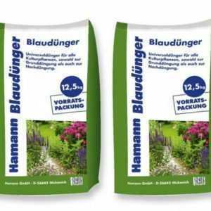 (1,30€/1kg) Hamann Blaudünger 25 kg Dünger Universal Volldünger Blaukorn