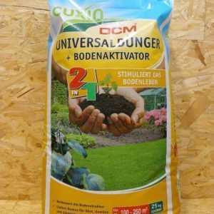 Cuxin Universaldünger + Bodenaktivator 25 kg organisch Volldünger Gartendünger