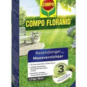 COMPO FLORANID® Rasendünger mit Moosvernichter 1,5 kg