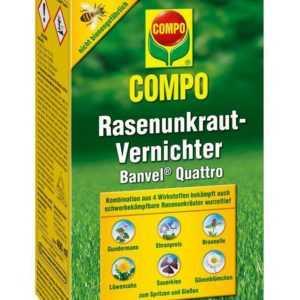 Compo Rasenunkraut-Vernichter Banvel Quattro, 400 ml (4,70 €  / 100 ml)