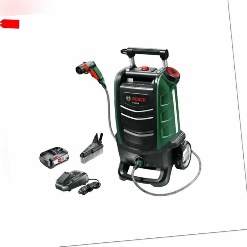 Bosch 18V Akku Hochdruckreiniger Fontus mit 1x 2,5 Ah Akku