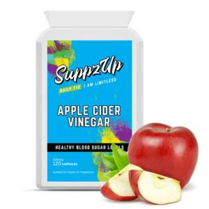 Suppzup Pure Apfelessig Hoch Stärke Unterstützung Cholesterin Stufen 500mg