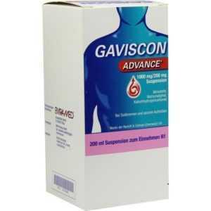 GAVISCON Advance Suspension 200ml PZN 6574860