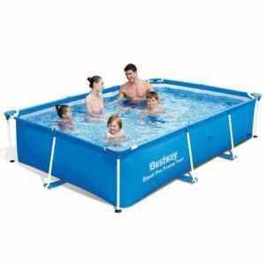 Bestway Schwimmbecken Stahlrahmen Schwimmbad Swimmingpool Pool mehrere Auswahl