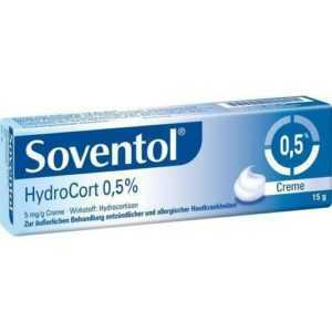 SOVENTOL Hydrocort 0,5% Creme 15 g PZN 4465121