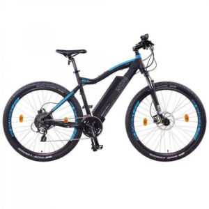 "NCM Moscow Plus 27,5"" E-MTB Mountainbike E-Bike 48V 16Ah 768Wh Panasonic schwarz"