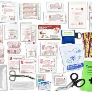 Komplett-Set Erste-Hilfe KITA PLUS 1 DIN/EN 13157 inkl. Notfallbeatmungshilfe