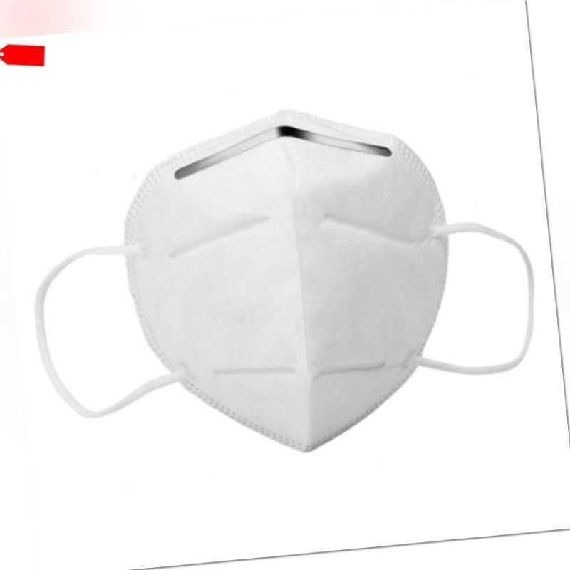 FFP2 Atemschutzmaske Mundschutz Schutzmaske Atemschutz Maske mask N95 Zertifikat