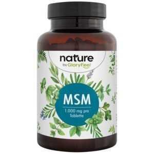 MSM 365 Tabletten 2000mg Methylsulfonylmehtan pro Tag + Vitamin C Acerolapulver