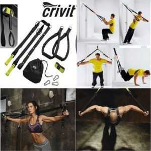 Schlingentrainer Profi Suspension Sportgerät-Fitness-Full-Body-Workout