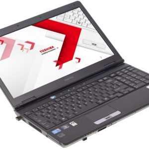 """Toshiba Satellite S500 Notebook 15"""" i3-330M (2x2,13GHz) 4GB RAM 120GB SSD"""