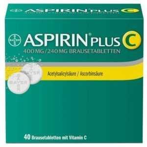 ASPIRIN PLUS C PZN:03464237
