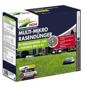 Cuxin Multi-Mikro-Rasendünger 3 kg für ca.30 m²