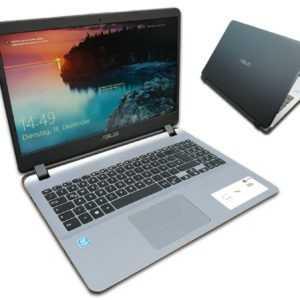 ASUS F705U Notebook 17 Zoll HD+ Quad Core 4 x 2,7GHz 8GB 256GB Win10 Wlan Silber
