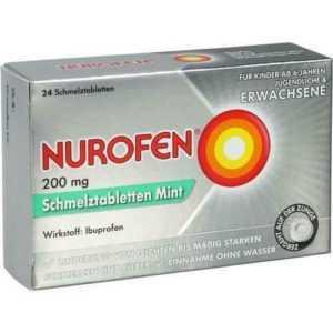 NUROFEN 200 mg Schmelztabletten Mint 24 St PZN 11128051