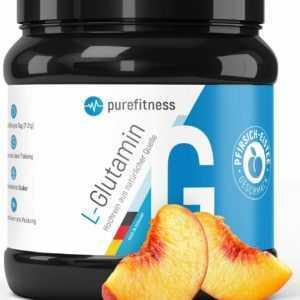Premium L Glutamin Pulver Aminosäuren Eistee Neutral Vegan 100 Portionen 500g