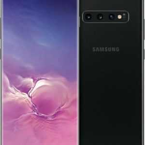 Samsung Galaxy S10 Plus 128GB Prism Black Schwarz  SM-G975F...