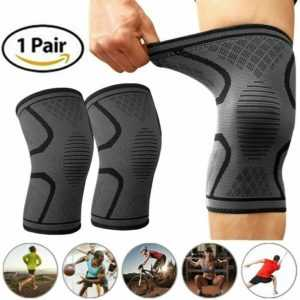 Kniebandage gegen Knieschmerzen 2er für Männer Frauen Bequeme Sport Knieorthese