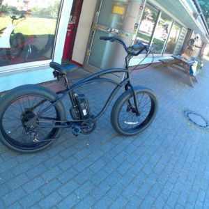 e-Bike Pedelec Cruiser Herren Beachcruiser Electra Fat Tire LUX 7D ElectricRide
