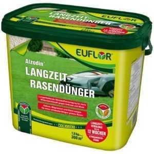 EUFLOR Alzodin Langzeit-Rasendünger NPK  20+5+8, 7,5 kg