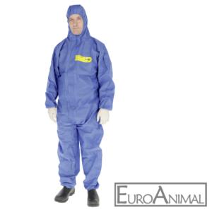 Chemie-Schutzoverall CoverBase - 4 Größen Einwegoverall Schutzanzug PSA 3 III