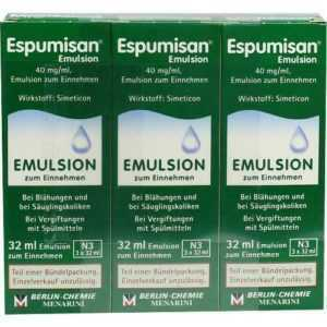 ESPUMISAN Emulsion 3X32 ml PZN 9706718