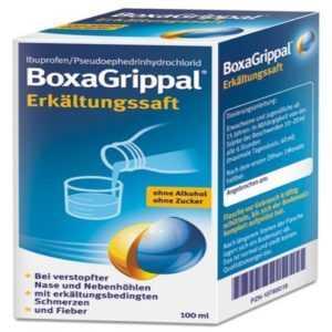BOXAGRIPPAL Erkältungssaft 100 ml PZN 10785019