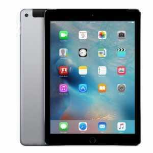 Apple iPad Air 2 Wi-Fi + Cellular 4G LTE 64GB Tablet Spacegrau (A1567)