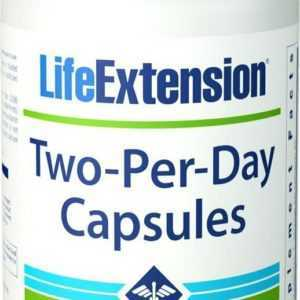 Life Extension Two-Per-Day Multivitamin Mineralien 120 Kaps Blitzversand