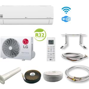 LG Klimaanlage Inverter Standard Plus PC09SQ 2,5 kW WiFi mit Montageset; EEK A++