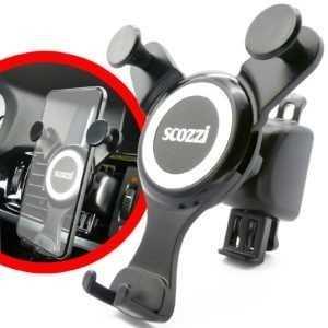scozzi®Handyhalterung Auto Lüftungsgitter Automatisch KFZ Halter Handy Universal