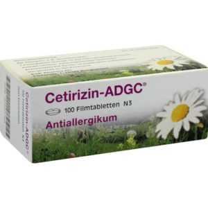 CETIRIZIN ADGC Filmtabl.   100 st   PZN2663704