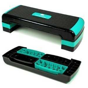 Steppbrett Aerobic Fitness Stepper Board Brett Step-Bench Home-Stepper 3-Stuffig