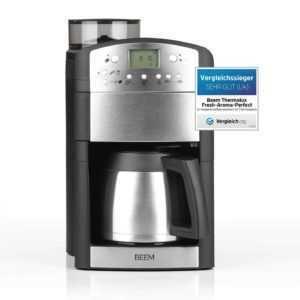 Kaffeemaschine Timer Thermokanne Edelstahl Filterkaffeemaschine...