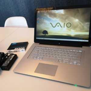 """Sony Vaio SVF15N1C5E Intel Core i5 4200U 8GB Ram 480GB SSD 15,6"""" beleuchtet"""