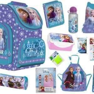 Eiskönigin 2 Frozen II 2 Anna und Elsa Schulranzen Tornister Ranzen SET 12 Teile