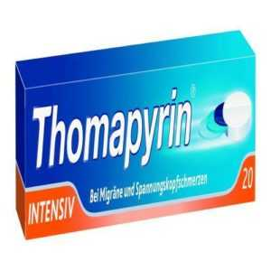 THOMAPYRIN INTENSIV Tabletten 20 St PZN 624605