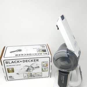 Black+Decker Dustbuster Pivot PV1820L – 18V Akku Handstaubsauger #7830