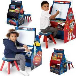 Tafel Schreibtisch Spielzeugkiste Regal Activity Center Kinder Holz ab 44,90 €