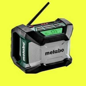Metabo Akku-Baustellenradio R 12-18 BT 600777850 12-18 Volt Solo Bluetooth