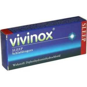 VIVINOX Sleep Schlafdragees überzogene Tab. 20 St PZN 4132483