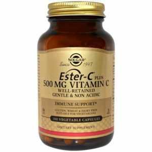Solgar, Ester-C® Plus, Immunsystem, 500mg, 100 Veg. Kapseln - Blitzversand