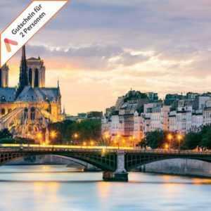 Kurzreise Paris 3 Tage für 2 Personen in modernem City Design Hotel Gutschein