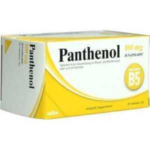 PANTHENOL 100MG JENAPHARM Tabletten 50St MIBE 6150829