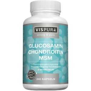 GLUCOSAMIN CHONDROITIN MSM Vitamin C   240 st   PZN13947468
