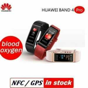 HUAWEI Band 4 Pro BT4.2 GPS Smart Armband Sports Pulsmesser für Android iOS N6S6