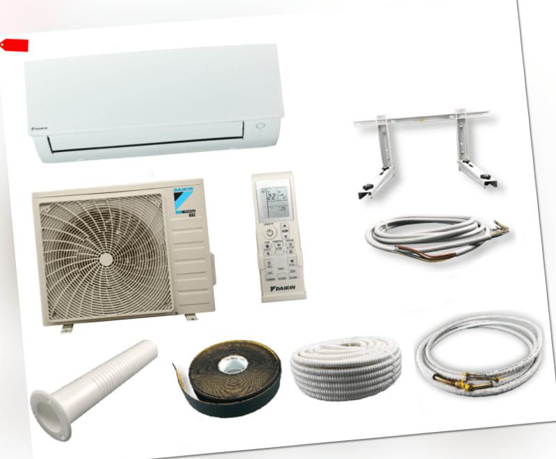 Daikin Sensira+ Klimaanlage FTXC35B Klimagerät 3,5 kW mit Montageset ,2019!; EEK A++