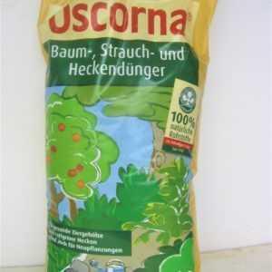 Oscorna Baum Strauch und Heckendünger Naturdünger Volldünger 10,5Kg (2,28€/1Kg)