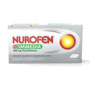 Nurofen IMMEDIA 400 mg Filmtabletten 24 St PZN: 8794459